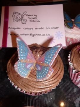 Butterfly and Cakesbyhannahvictoria card