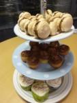macaroon cakestand