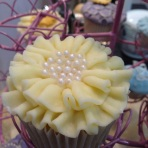 Cake International ruffle cupcake