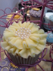 Cake International ruffle cupcake