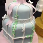 Cake International birdcage cake