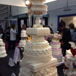 Cake International10 tier cake