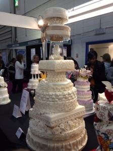 Cake International10 tier cake