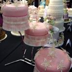 Cake International pink cake