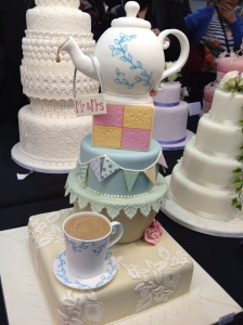 Cake International teapot cake