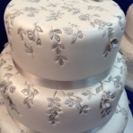 Cake International wedding cake