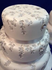 Cake International wedding cake
