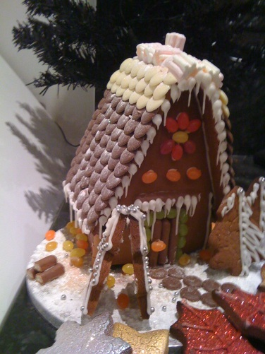 Christmas ginger-bread house