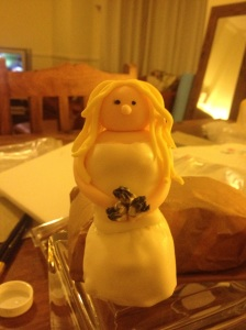 Sarah cake topper