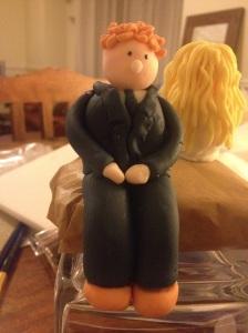 Andrew cake topper