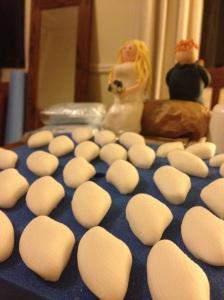 sugarpaste shells