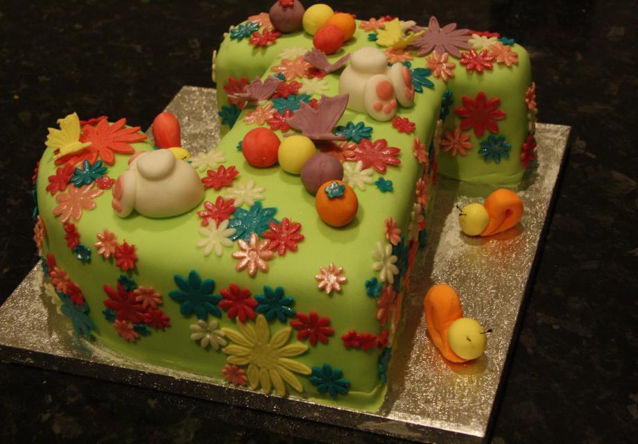 Jennys Spring Birthday Cake Cakes By Hannah Victoria